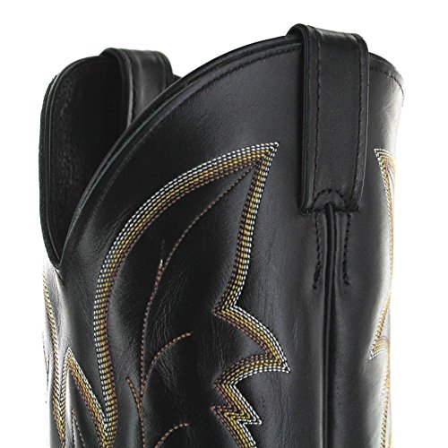 Black western Weite FB Royal Boots1419 Stivali Ee Fashion Uomo qxHTYOx