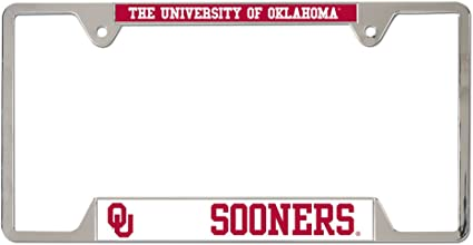 University of Oklahoma Sooners License Plate Frame