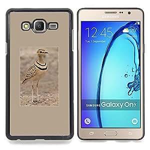 - Sand Summer Bird Poster Brown Nature/ Duro Snap en el tel????fono celular de la cubierta - Cao - For Samsung Galaxy On7 G6000