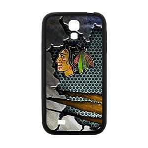 Custom Unique Design NHL Chicago Blackhawks Samsung Galaxy S4 Silicone Case
