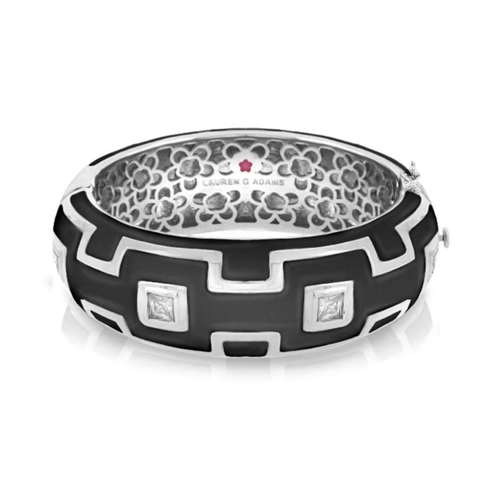 Motif carré Noir Bracelet