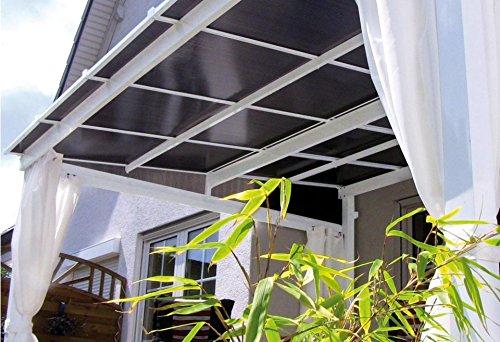 4-er-Set 13674100 Leco Seitenteile zur Terrassen/ü berdachung Art
