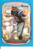 Football NFL 2013 Bowman Rainbow Blue #50 Tom Brady 70/99 Patriots