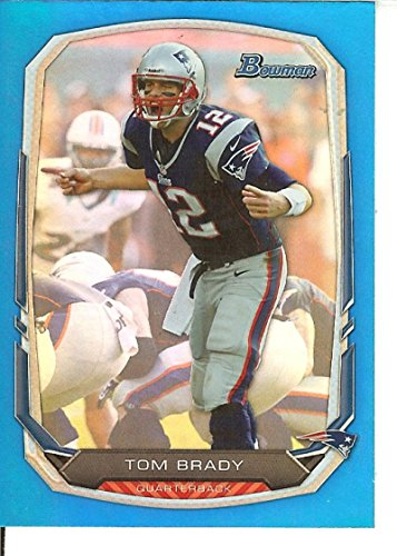 Football NFL 2013 Bowman Rainbow Blue #50 Tom Brady 70/99 Patriots by tom brady