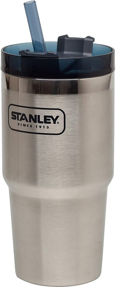 Stanley Adventure Vacuum Insulated Quencher Travel Tumbler, Stainless Steel, 0.59 Litre