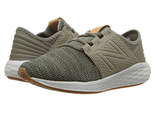 [new balance(ニューバランス)] メンズランニングシューズ?スニーカー?靴 KJCRZv2P Knit (Little Kid) Military Foliage Green/Rosin 12.5 Little Kid (19cm) W