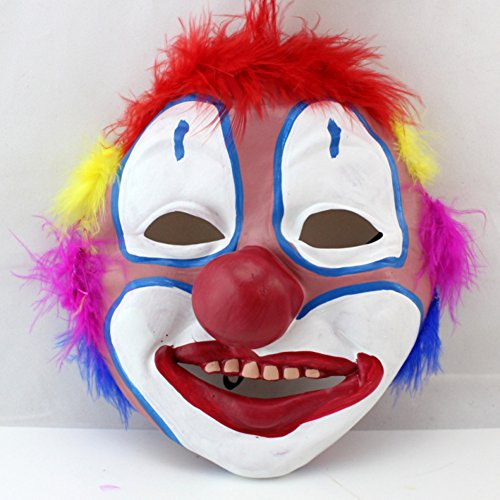 Halloween dance show props/Horror latex clown mask-B (Prosthetic Clown Costume)