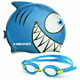 Kid's Swim Cap and Goggle Set