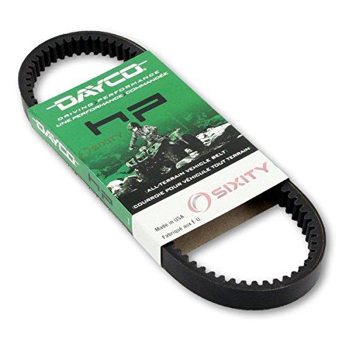 2001-2006 for Polaris Sportsman 500 HO Drive Belt Dayco HP ATV OEM Upgrade Replacement Transmission Belts ()