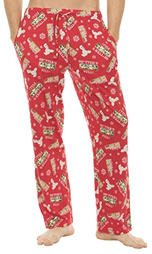 Christmas Vacation Red Lounge Pants