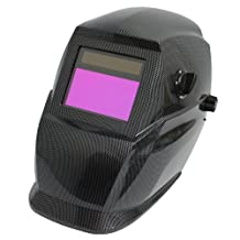 """Antra Solar Power Auto Darkening Welding Helmet with Viewing Size 3.78""""X2.07"""" Variable Shade 4/9-13 AF350 Filter ADF Extra lens cover Meets ANSI CSA"""