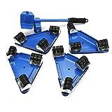 Eosphorus ML Furniture Lifter Glider Shift Wheel Lifting System w/360°Rotating Sliders 660lbs Durable