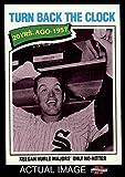 1977 Topps # 436 Turn Back The Clock Bob Keegan Chicago White Sox (Baseball Card) Dean's Cards 8 - NM/MT White Sox