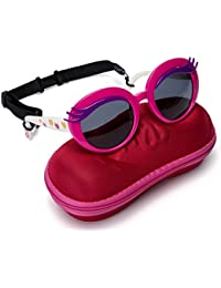 Girls Eyelash Polarized Sunglasses - UV Protection...