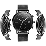 Black Watches for Men - OLEVS Inexpensive...