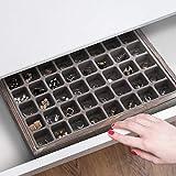 J JACKCUBE DESIGN Jewelry Box Organizer - Wood Tray