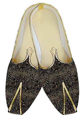 Zapatos MJ012133 Marrón INMONARCH Boda Hombres Diseños Negro anYZqxEwZF