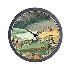 CafePress Noahs Ark Unique Decorative 10 Wall Clock