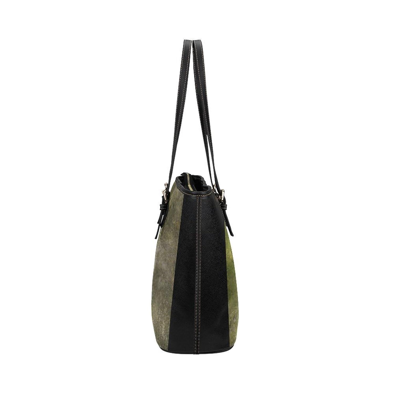 Nicedesigned Tote Bag Funny Meerkat Leather Tote Shoulder Bag Handbag for Women Girls