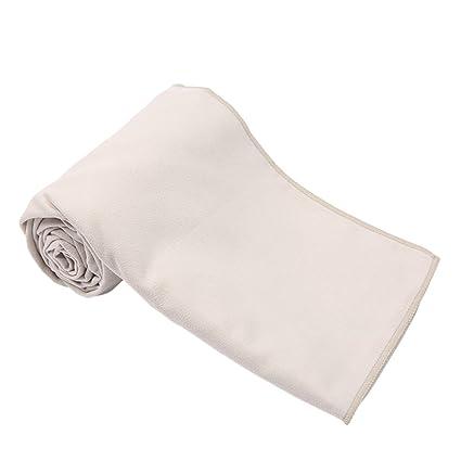 FRCOLOR Toalla de viaje deportiva de microfibra de secado rápido, absorbente de sudor, compacta