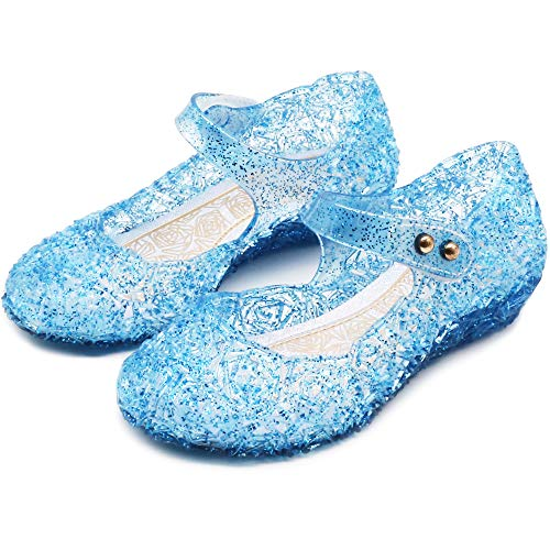 Girls Elsa Shoes - eccbox Princess Girls Sandals Dance Party