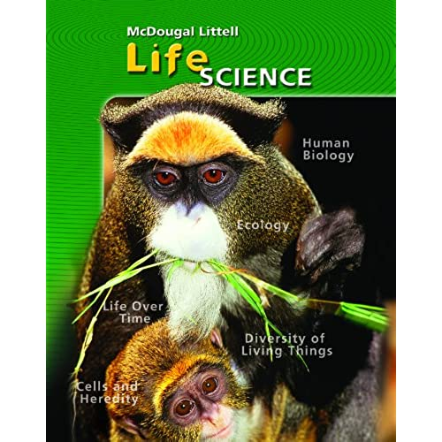 7th grade textbooks amazon mcdougal littell science student edition grade 7 life science 2006 fandeluxe Image collections