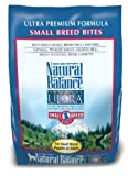 Natural Balance Ultra Premium Small Bite Formula Dog Food, 5-Pound Bag, My Pet Supplies