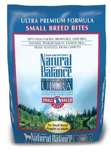 Natural Balance Ultra Premium Small Bite Formula Dog Food, 5-Pound Bag, My Pet Supplies