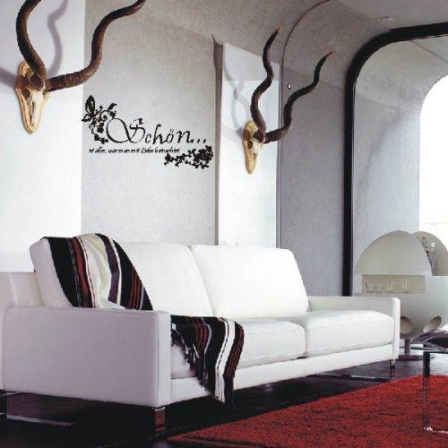 INDIGOS 4051719342833 4051719342833 4051719342833 Wandtattoo, Vinyl, türkis, 60 x 10 x 10 cm B0047NL0IM Wandtattoos & Wandbilder 915406