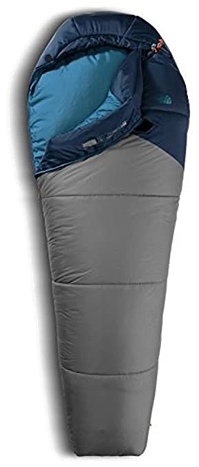 The North Face para Hombre Aleutian 20/-7 Saco de Dormir, Extra Long Left Hand, Azul/Gris (Cosmic Blue/Zinc Grey): Amazon.es: Deportes y aire libre