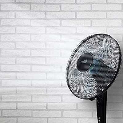 Cecotec Ventilador de Suelo EnergySilence 530 Power Connected Black. 5 Aspas de 12