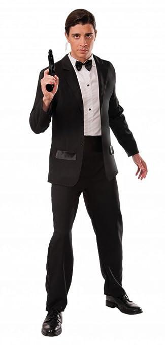 attraktive Designs 100% hohe Qualität unverwechselbares Design shoperama Herren-Kostüm Secret Agent Smoking James Bond 007 ...