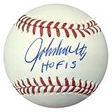 John Smoltz Signed Official MLB Baseball Atlanta Braves HOF 15 - PSA/DNA Authentication - Autographed MLB Baseballs