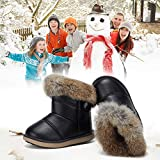 CIOR Toddler Snow Boots for Girls Boys Winter Warm