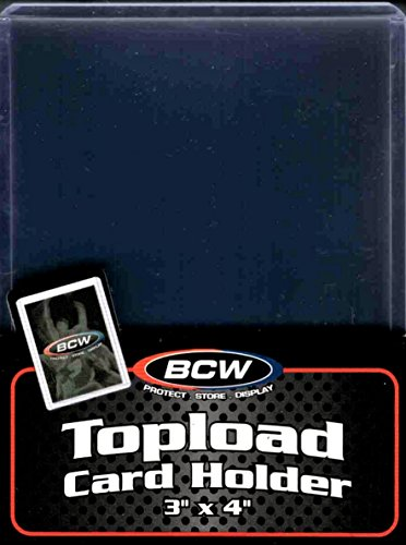 BCW 1 TLCH N Topload Card Holder Standard