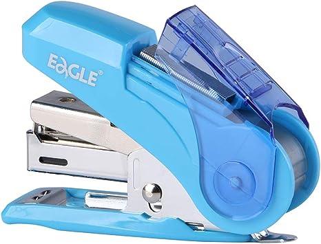 S7079172 includes Built-In Staple Remover /& 1000 Standard Staples Blue Swingline Mini Stapler Tot 12 Sheet Capacity