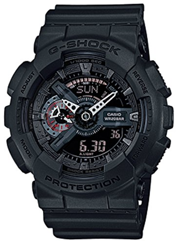 Price comparison product image Casio G Shock GA-110MB-1AER Mission Black G-Shock Uhr Watch Montre Orologio