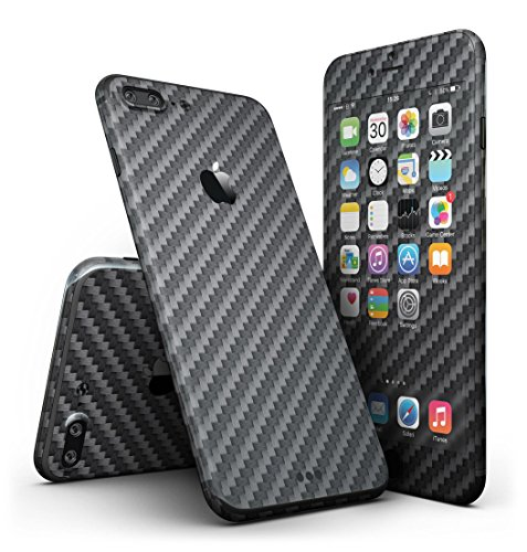 Carbon Fiber Texture iPhone 7 + Plus Ultra-Thin Design Skinz Slim-Fitting Protective Cover Wrap