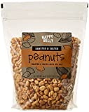 #7: Amazon Brand - Happy Belly Roasted and Salted Peanuts, 44 ounce