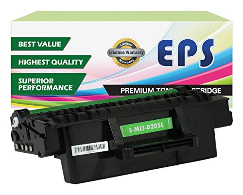 EPS Compatible Replacement for Samsung Black Toner Cartridges MLT-D205L - High Yield