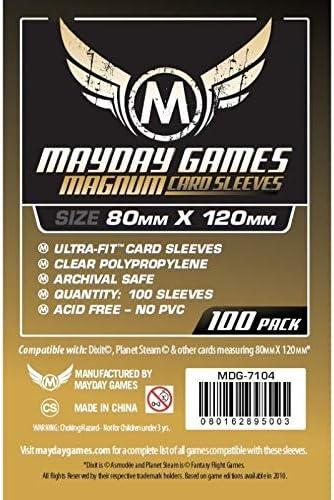 FUNDA TABLERO: MAGNUM GOLD (80 x 120 mm) (100) (DORADO): Amazon.es: Juguetes y juegos