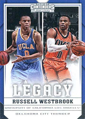 newest a28c3 824cf Russell Westbrook Basketball Card (UCLA Bruins, Oklahoma ...