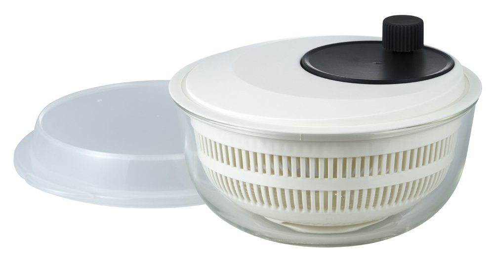 iwaki salad spinner [heat-resistant glass bowl] K345SS (japan import)