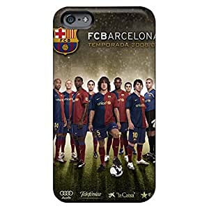 iphone 5c Back phone case cover Hd Nice fc barca