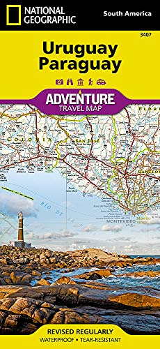 Uruguay, Paraguay (National Geographic Adventure Map)...