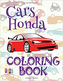 ✌ Cars Honda ✎ Car Coloring Book for Boys ✎ Coloring Book 6 Year ...