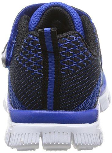 Skechers 95523L - Zapatillas de deporte, Niños Azul (RYBK)