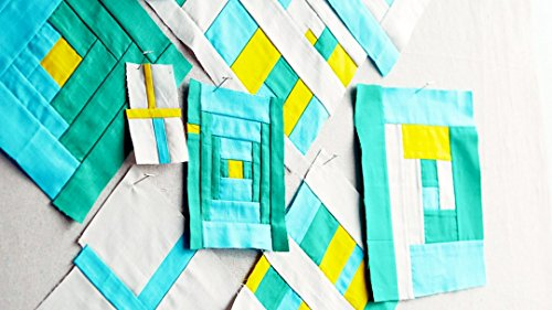 Improvisational Patchwork for Beginners by Creativebug.com