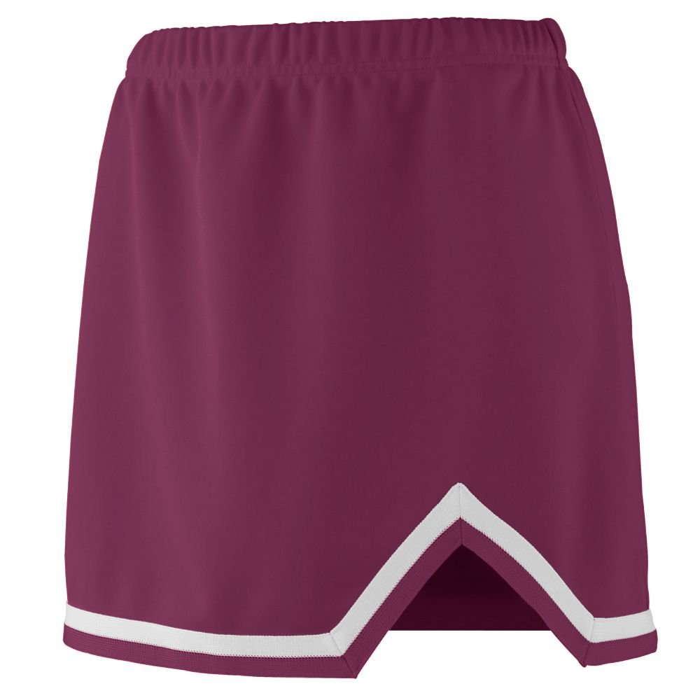 Augusta Sportswear Girls' Energy Skirt M Maroon/White by Augusta Sportswear