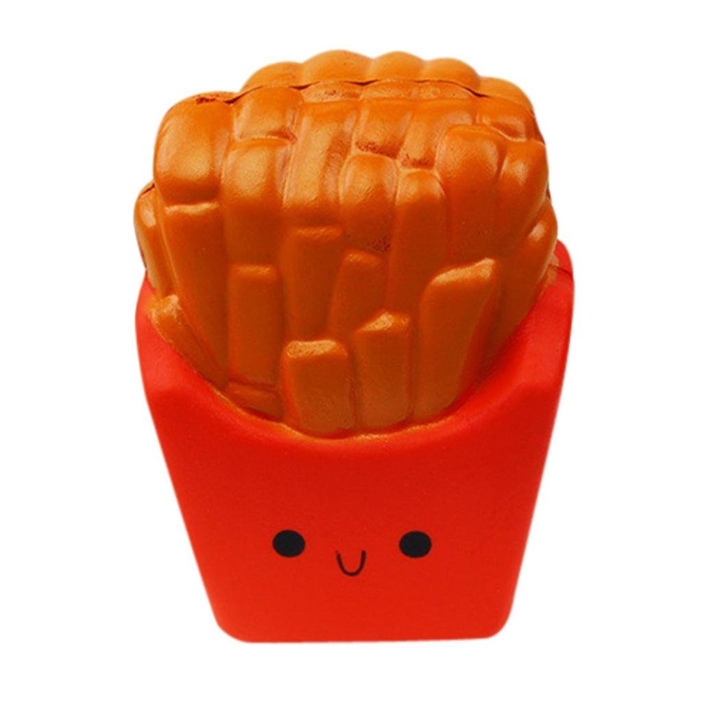 mostsola応力Relieverクリーム香りつきスーパーSlow Rising Kids Toy ( French Fries )   B078YRVHFF